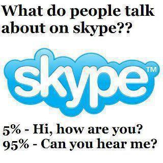 Skype joke at WebMorf