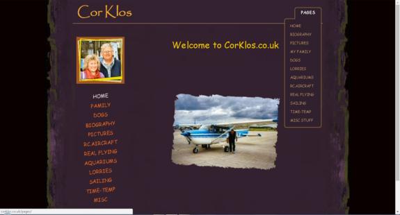 WebMorf Portfolio - CorKlos.co.uk