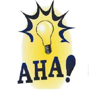 A-Ha! moments
