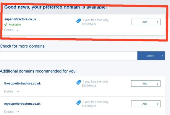 WebMorf - choosing a domain name